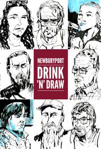 Newburyport: May 2015 Drawings by Trev Stair