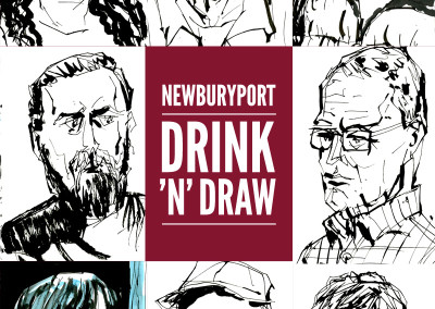 Newburyport: May 2015 Drawings by Trev Stair