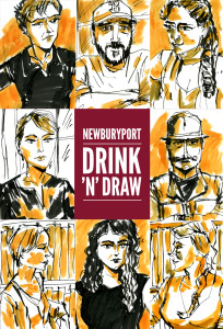 Portsmouth: May 2015 Drawings by Trev Stair
