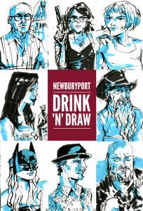 Newburyport: July 2015 Drawings by Trev Stair