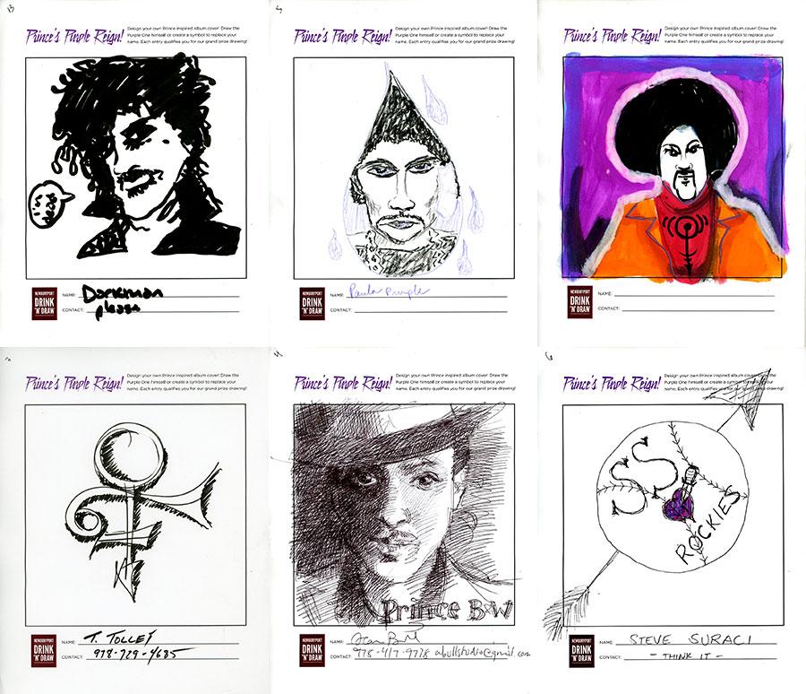 Prince's Purple Reign Entries 02