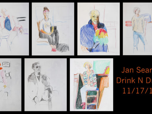 Jan Searle 11-17-16 Drink N Draw
