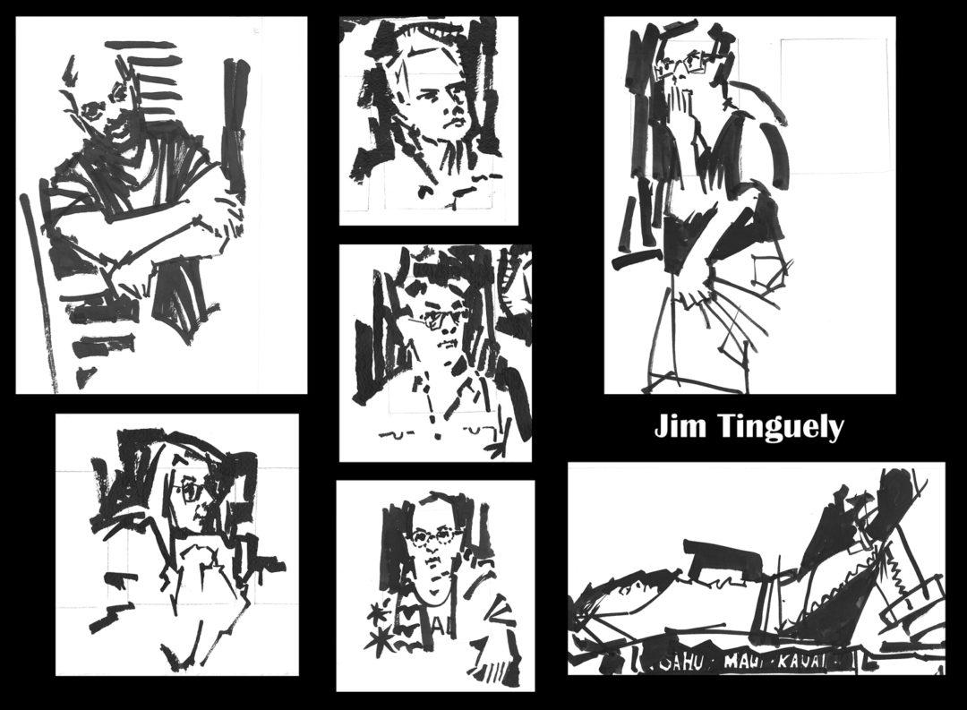 Drink N Draw 06-22-17 Jim Tinguely