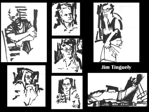 Drink N Draw 06-22-17 Jim Tinguely