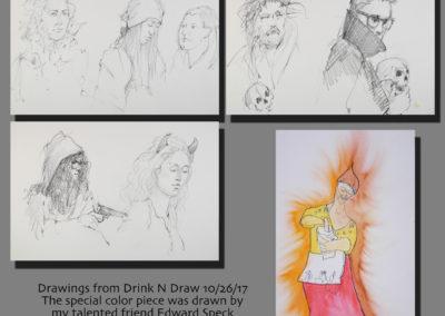 Drink N Draw 10-26-2017